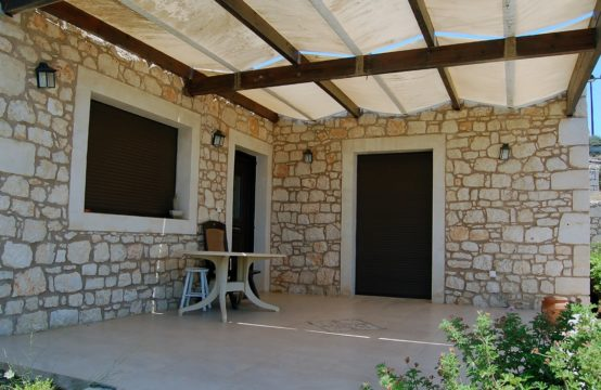 For sale a stone sea view 105 sq.m. house on Crete island, Greece!