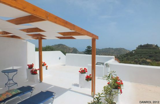 For sale old Cretan style 152 sq.m. sea view house on Crete island, Greece!