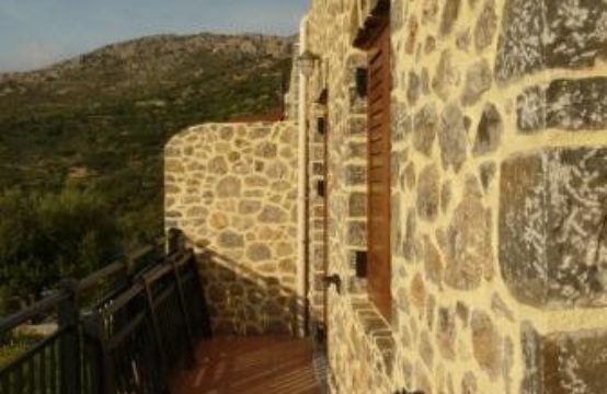 For sale newly built stone house 80 sq.m. on Crete island, Greece!